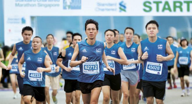 渣打新加坡马拉松赛