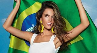 里约奥运 | 巴西超模撑起奥运半边天 满街都是行走的荷尔蒙
