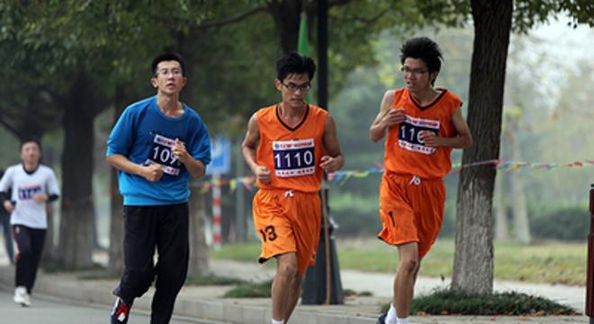 中国矿业大学校园半程马拉松