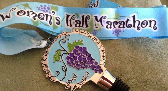 南加州葡萄酒之乡女子半程马拉松