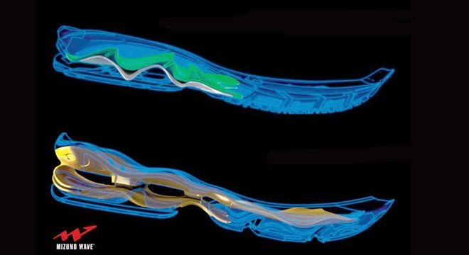 跑鞋黑科技(四):美津浓MIZUNO WAVE减震和稳定共存