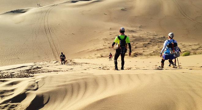 环球极地超级马拉松內蒙古站