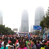 上海浦东国际女子半程马拉松 | 妹子也能跑