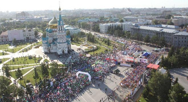 西伯利亚马拉松