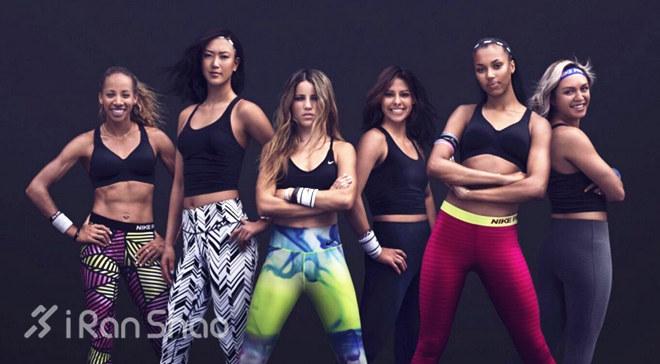 运动女生都爱运动服饰