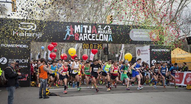 巴塞罗那半程马拉松