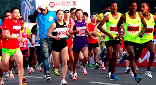 婺源国际马拉松赛