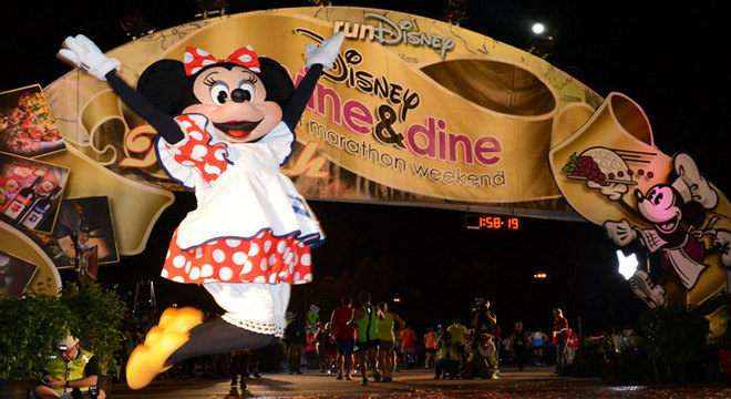 迪士尼美酒佳肴半程马拉松