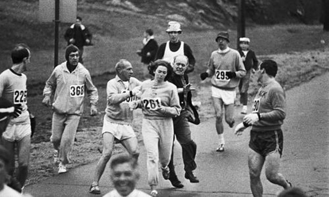 西班牙261女子马拉松