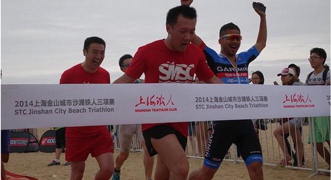 上海金山城市沙滩铁人三项赛