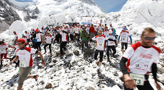 奔跑于世界之巅—丹增-希拉里珠峰马拉松