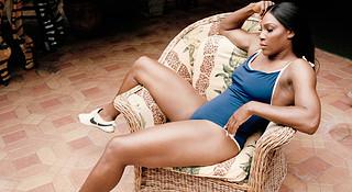 女运动员身材强壮又怎样 小威请你打破常规审美