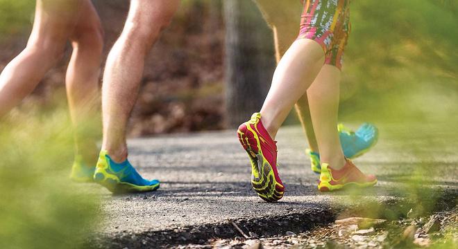 现场 | 与五指鞋赤足跑的亲密接触 重新开始学跑步