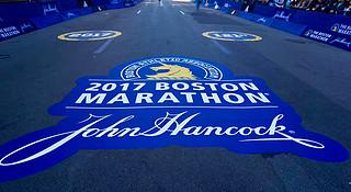 波士顿马拉松   神兽引领下的朝圣之旅