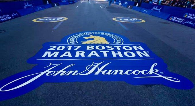 波士顿马拉松 | 神兽引领下的朝圣之旅
