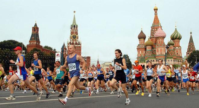 莫斯科半程马拉松