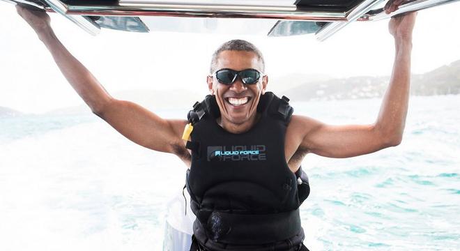 热点 | 卸任生活欢乐多 奥巴马放飞自我去运动