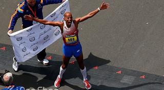 夺回终点线!— 载入史册的2014 波士顿马拉松
