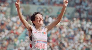 人物 | 奥运女子马拉松传奇Rosa Mota