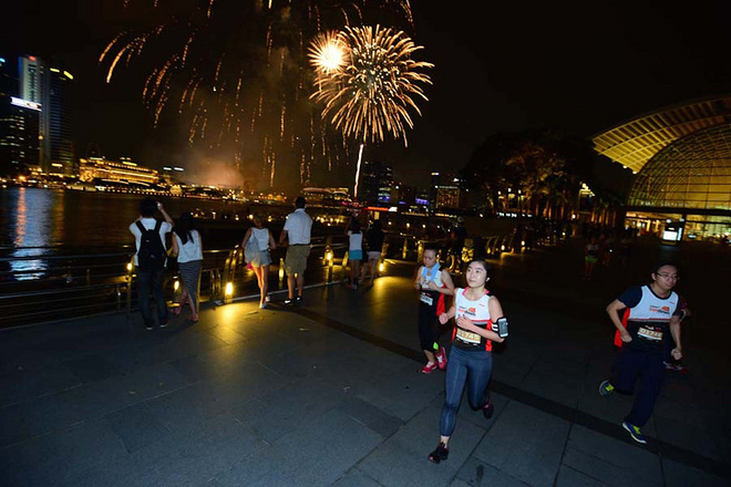 2017新加坡sundown尚道日落马拉松