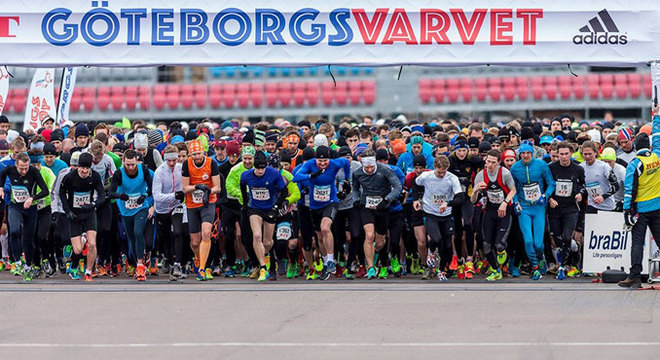 哥德堡半程马拉松