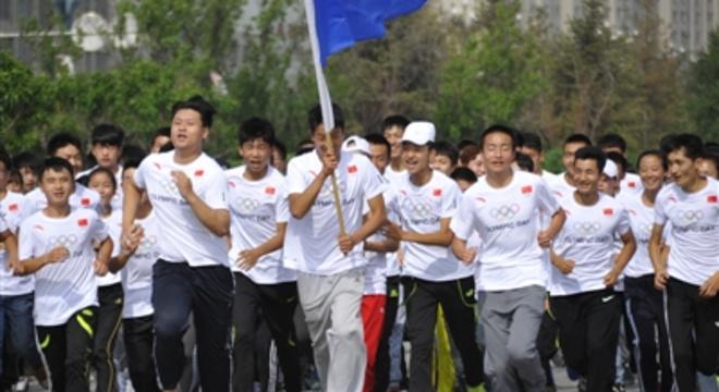 第29届奥林匹克日长跑成都站