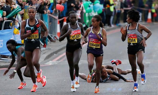 2016年伦敦马拉松摔跤