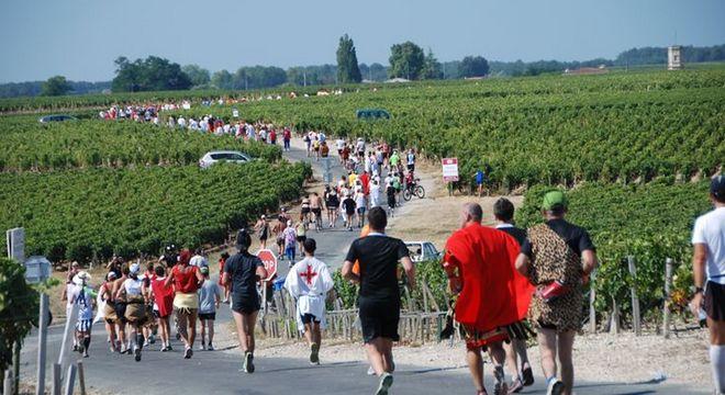 波尔多梅铎红酒马拉松