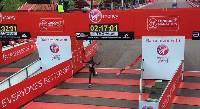 深度 | 伦敦马拉松 纯女子马拉松世界纪录被打破 贝克勒再次错失冠军