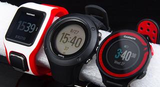 TopX | 三款主流中端GPS跑步手表对比评测