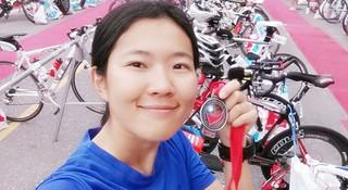最软的心走最硬的路—女生纪元的铁三梦之Challenge Taiwan (下)