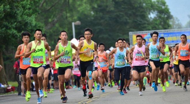 第三届大脚ㄚ杯全国公益马拉松接力赛