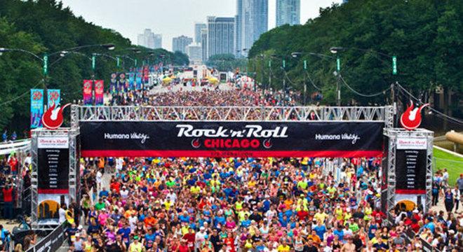 芝加哥摇滚半程马拉松