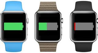 Apple Watch 续航成伤 重度使用或低于 4 小时