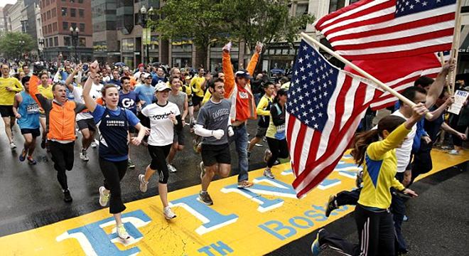 波士顿马拉松 | 美式主旋律下的马拉松精神