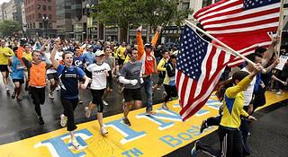 波士顿马拉松   美式主旋律下的马拉松精神