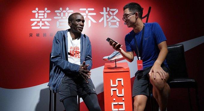 视频   独家专访马拉松最强跑者基普乔格 聊一聊他突破极限的秘诀
