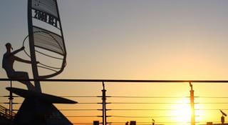 跑在青岛—极致唯美的海边景观