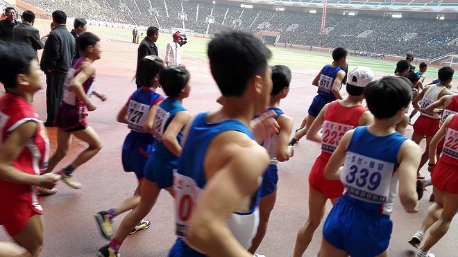 2017朝鲜平壤马拉松