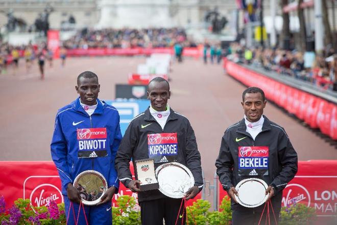 2016年伦敦马拉松颁奖