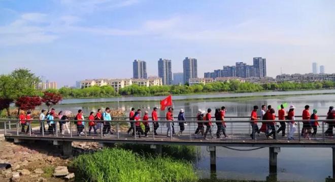 网民环太湖徒步大会