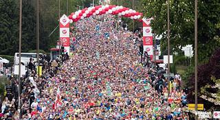 伦敦马拉松 | 王子王妃大出动 世界纪录层出不穷