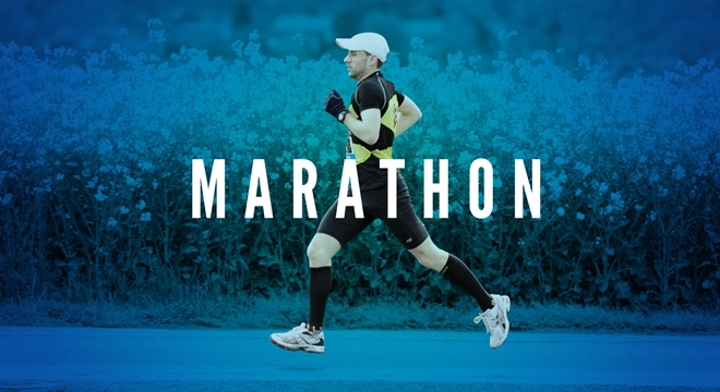 不是鸡汤   人生需要一场马拉松 你可以迟到但不能缺席