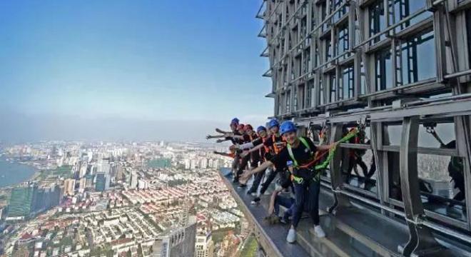 2019国际垂直登高大奖赛上海金茂大厦站暨金茂大厦开业20周年庆典活动