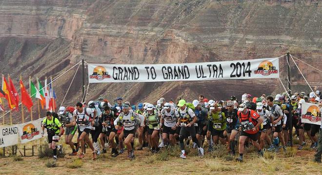 美国大峡谷超级马拉松