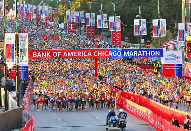 2017芝加哥马拉松