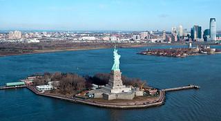 自由女神指引的四十二公里,纽约!纽约!