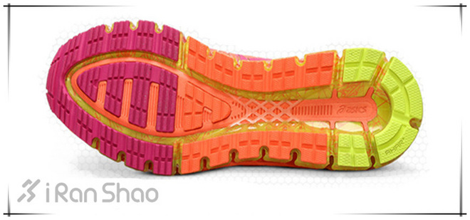 ASICS亚瑟士GEL-Quantum 360跑鞋鞋底