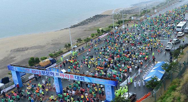釜山半程马拉松