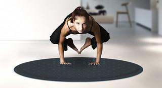 随时随练—来自LUNAR的智能瑜伽垫Tera